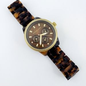 Michael Kors Statement Watch MK5038 Tortoise Shell